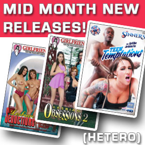 List of September latest porn DVD movies