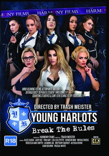 Buy Young Harlots Break The Rules DVD